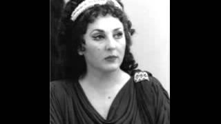 Ghena Dimitrova - Attila: Liberamente or piangi ... Oh! nel fuggente nuvolo (Atto I)