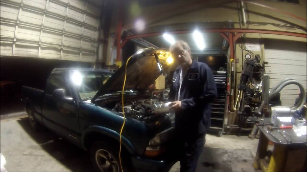 Chevy S10 Ac Compressor Change Youtube 1993 Buick A C Wiring Diagram