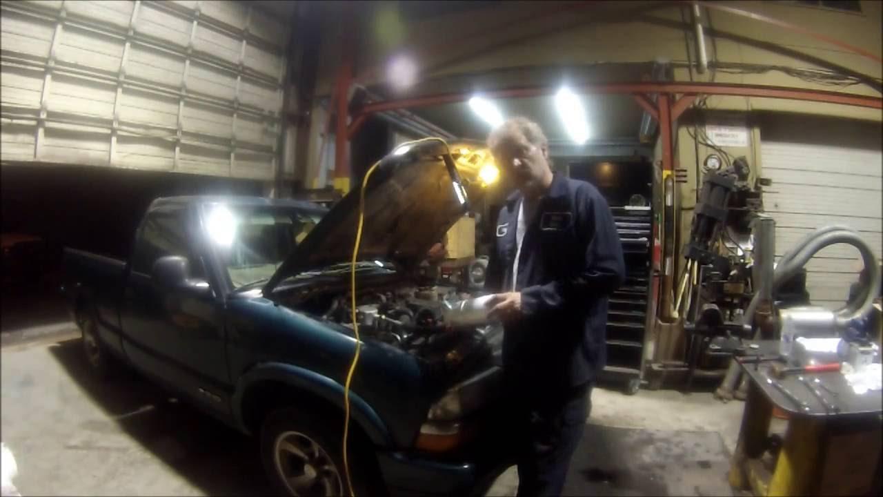 Chevy S10 AC Compressor Change