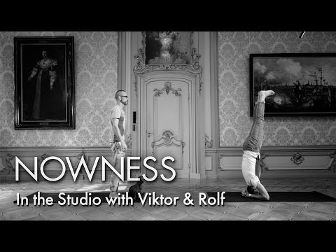 """In the Studio with Viktor & Rolf"" by Marcus Gaab"