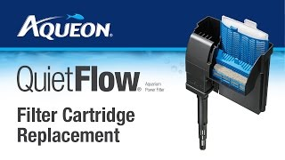 QuietFlow Power Filter: Cartridge Replacement