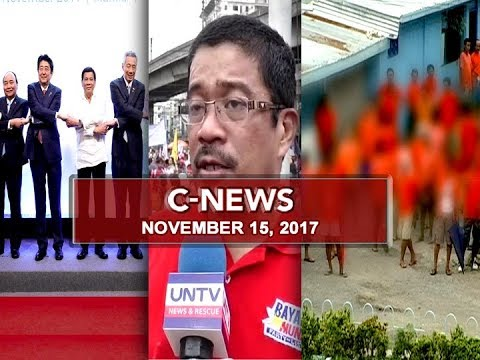 UNTV: C-News (November 15, 2017)