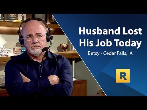 Husband Lost His Job Today