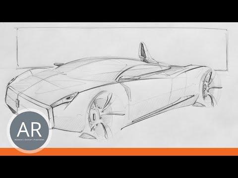 Autos ganz einfach zeichnen. Mappenvorbereitungskurs Transportationdesign