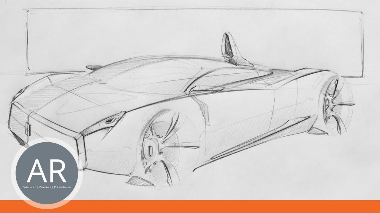 Tolle Auto Skizziert Vorlagen Ideen - Beispiel Anschreiben für ...