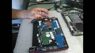 разборка и ремонт Нетбука Samsung N145 Plus