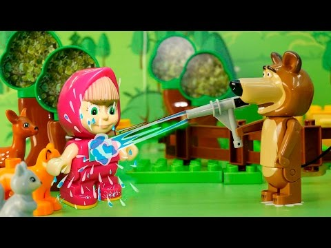 Маша и Медведь Masha and The Bear Маша плюс каша 17
