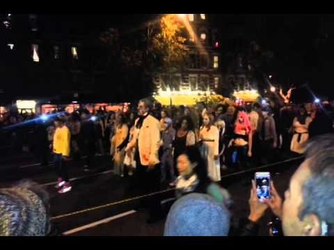 Halloween at Greenwich Village NY