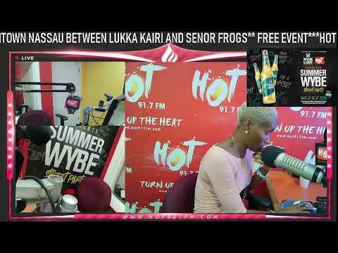 Nassau Bahamas - Hot 91.7 FM Live Stream