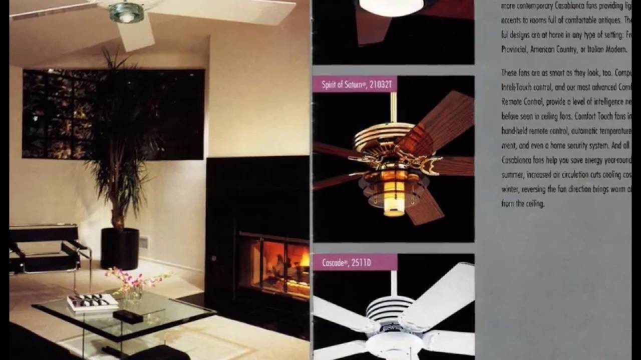 1992 Casablanca Ceiling Fan Catalog