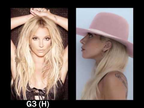 Britney Spears vs. Lady Gaga Vocal Battle: 2016 Albums (C3-A5)