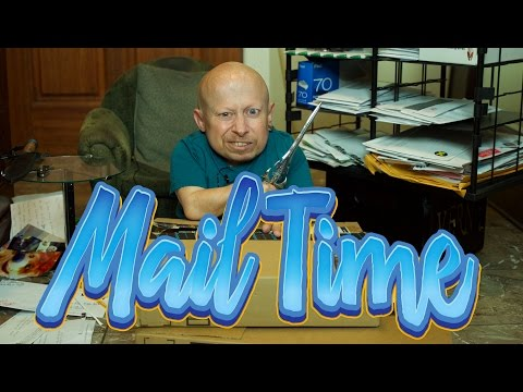 Thumbnail: Lots of Fan Mail! | MailTime #7 Unboxing with Verne Troyer