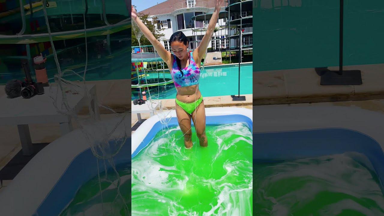 GOOEY SLIME BATH #Shorts