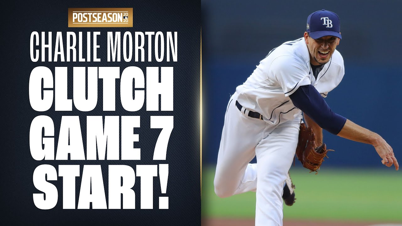 Charlie Morton throws 5.2 shutout innings in CLUTCH Game 7 start to help Rays to World Series!