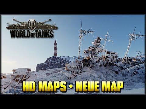 World of Tanks - Alle HD Maps + Neue Map - Teil 5 [ deutsch 🐄 gameplay ]