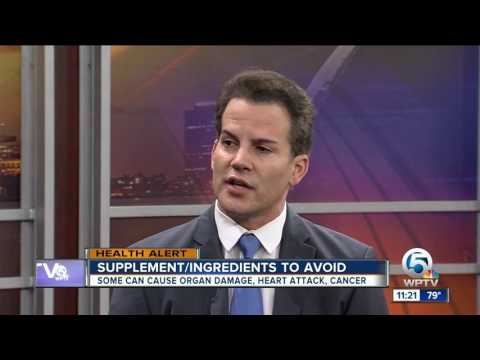 Dr. Soria: Negative effects of dietary supplements