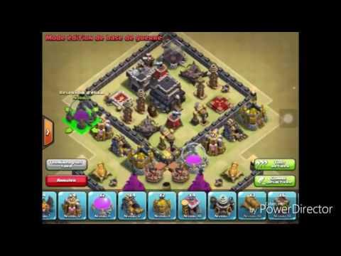 Meilleur village GDC anti 3 étoiles HDV 9