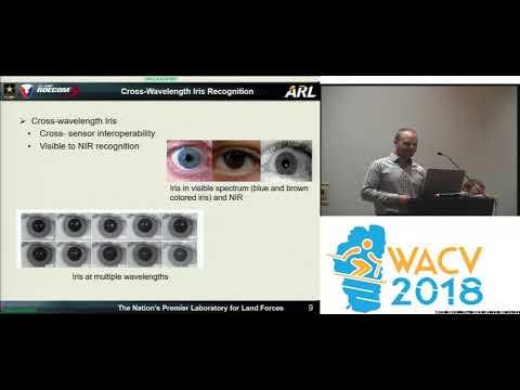 WACV18: Workshop: CDBR: Cross-Domain Biometric Recognition Overview
