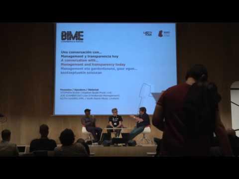 Una conversación con... Management y transparecia hoy - BIME PRO 2015