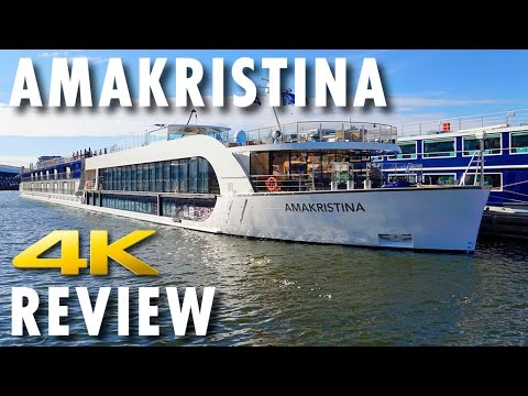 AmaKristina Tour & Review ~ Adventures by Disney ~ AmaWaterways ~ Cruise Ship Review [4K Ultra HD]