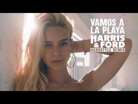 Смотреть клип Vamos A La Playa | Harris & Ford Hardstyle Remix - Miranda