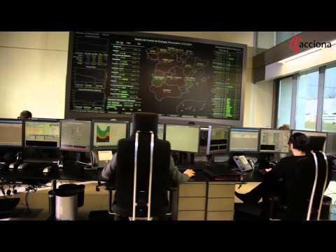Presentación del Centro de Control de Energías Renovables | ACCIONA