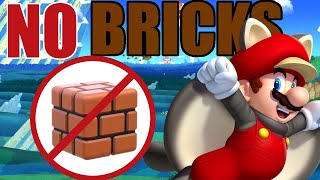 Is It Possible to Beat New Super Mario Bros U Deluxe Without Touching a Single Brick Block?