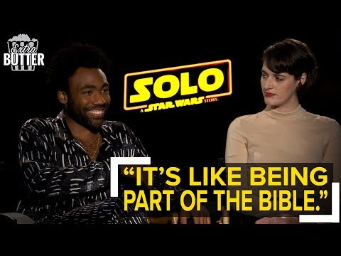 Solo: A Star Wars Story interviews: Donald Glover and Phoebe Waller-Bridge