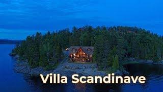 Villa Scandinave à vendre 1 299 000$ | Emplacement de rêve  | CANADA, QUEBEC, CHICOUTIMI