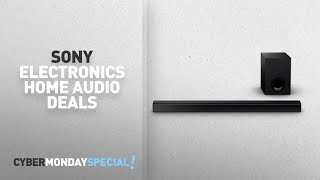 Walmart Top Cyber Monday Sony Electronics Home Audio Deals: Sony HT-CT80 2.1-Channel Sound Bar with