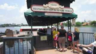 Walt Disney World Friendship Boat Captains Epcot