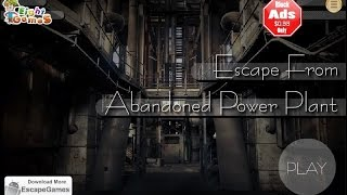 Escape From Abandoned Power Plant Walkthrough BEGIN - EightGames