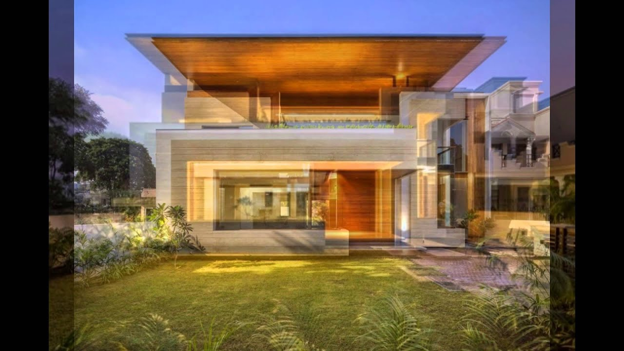 Home Design for Modern Home with Indian Sensibilities and an ... on