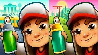 Subway Surfers 2018 - BERLIN vs TOKYO Android Gameplay