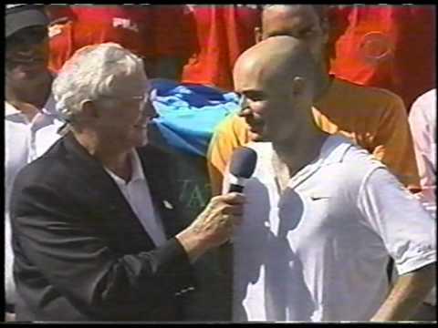 2002 Miami Masters 1000 Trophy Ceremony