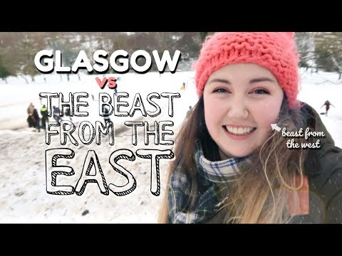 Glasgow v The Beast From the East