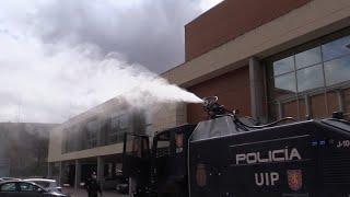 La Policía se dota de equipos de descontaminación masiva