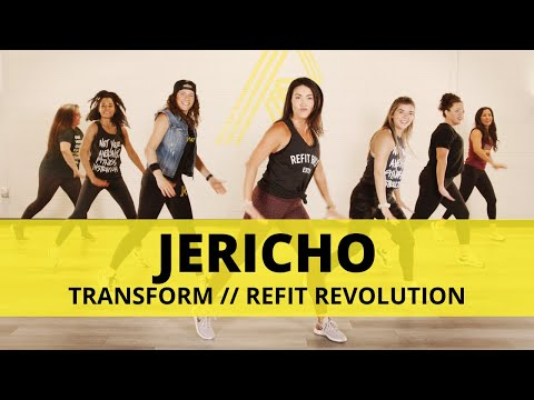 """Jericho"" || Transform || Dance Fitness Choreography || REFIT® Revolution"