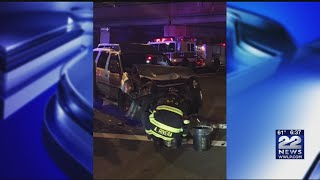 SUV rolled over in South End crash