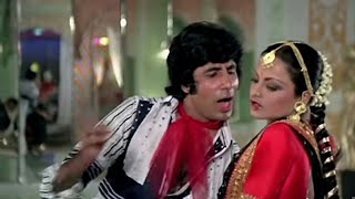 Atharaa Baras Ki Tu  || Suhag (1979) || Full Hd Video Song || Amitabh Bachchan & Rekha