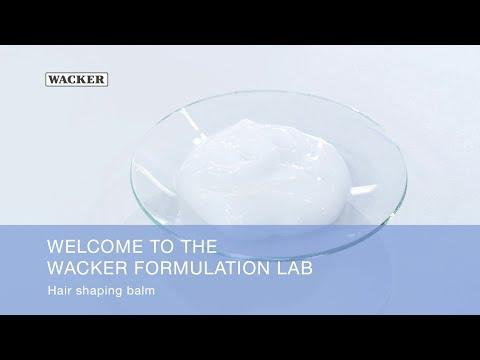 WACKER Formulation Lab - Hair Shaping Balm
