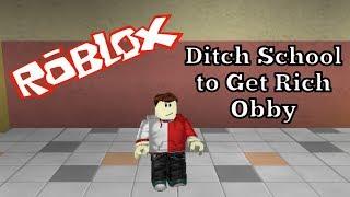 Roblox - Ditch School to Get Rich Obby - Alexander Bosko