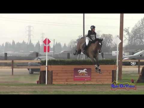 045XC Elana Von Doeler Intermediate Cross Country Fresno County Horse Park Int'l HT Feb 2014