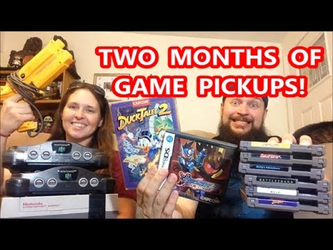 GARAGE SALE GAME FINDS & TWO MONTHS OF PICKUPS! | Scottsquatch