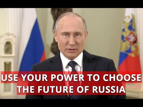 Putin's Presidential Address To The Nation: I Urge You To Go And Vote On Sunday's Elections