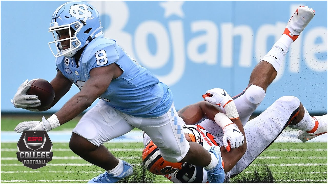 Syracuse Orange vs. UNC Tar Heels | 2020 College Football Highlights