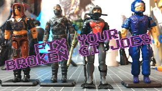 DIY Repair Guide: How to Fix Vintage GI Joe Figures!