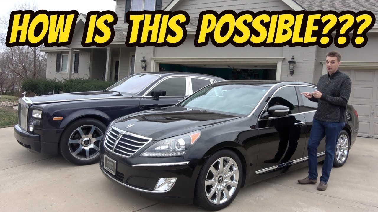 Here S Why This 15 000 Hyundai Equus Is More Luxurious Than My