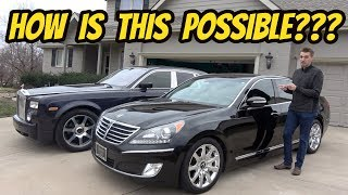 Download Here's Why this $15,000 Hyundai Equus Is More Luxurious Than My Rolls-Royce Phantom Mp3 and Videos