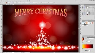 How to Design a Christmas Card in about 10 Minutes - Adobe Illustrator Tutorial